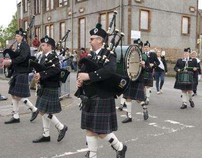 Gala Saturday - the Pipes and Drums
