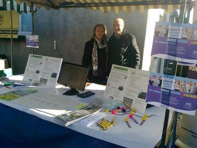 Community Councillors at Community Market Septeber 2012