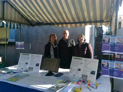 Community Councillors and Local Councillor at Community Market September 2012